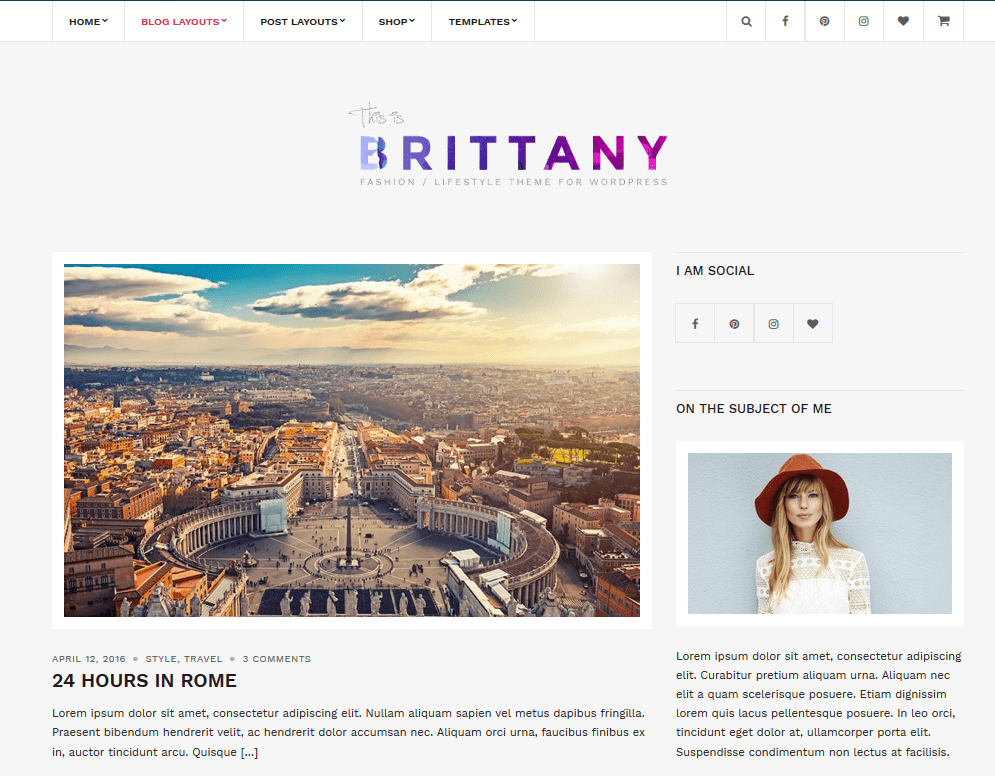 brittany theme