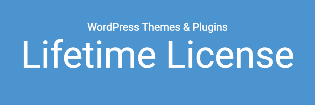 wordpress lifetime license