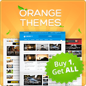 orange themes logo