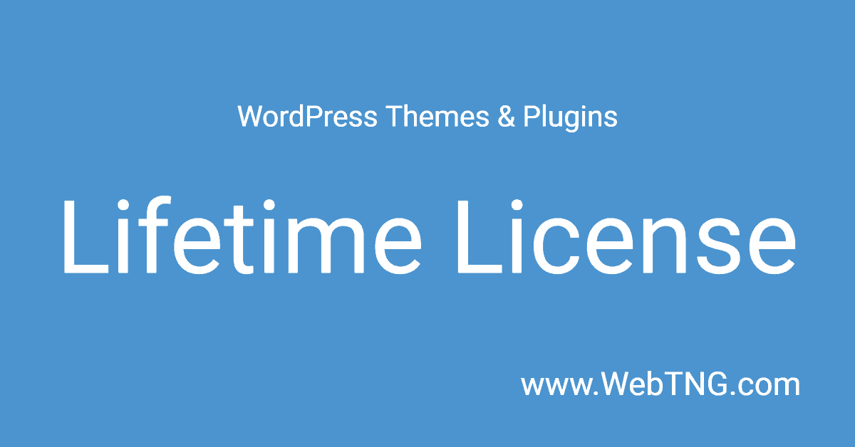 WordPress Themes and Plugins with a Lifetime License – The Ultimate