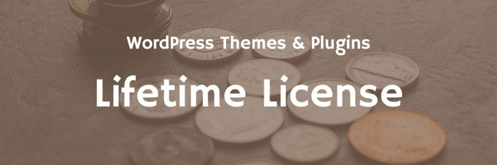 wordpress themes and plugins with lifetime license