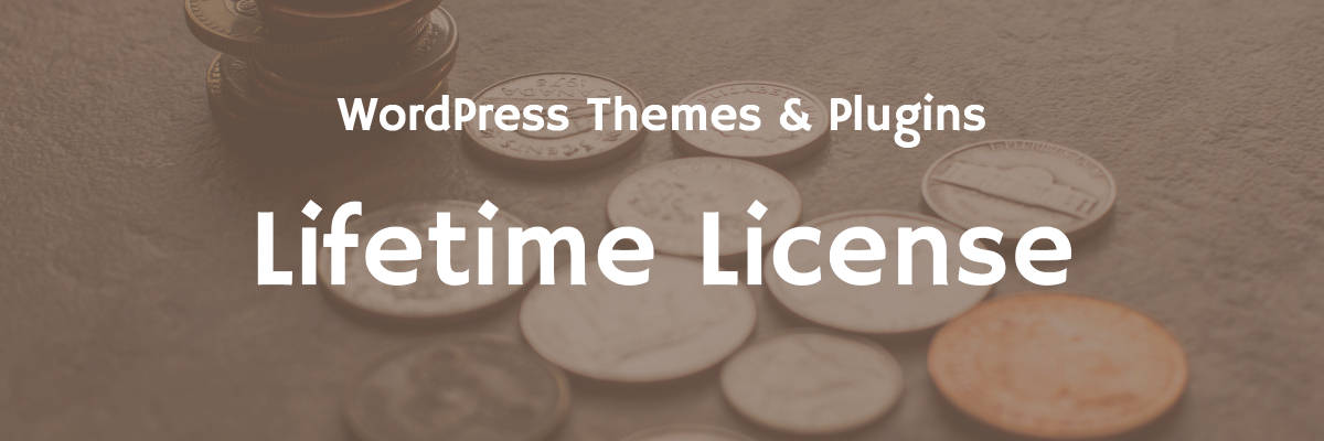 WordPress Themes and Plugins with a Lifetime License – The Ultimate List