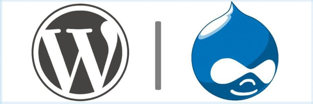 wordpress and drupal