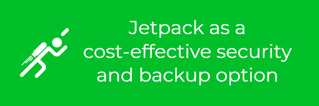 jetpack backup and security