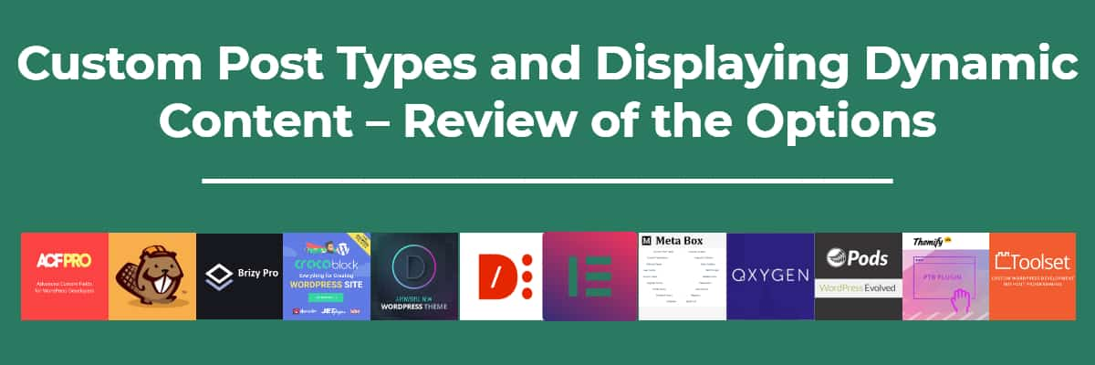 Cpts And Display Dynamic Content