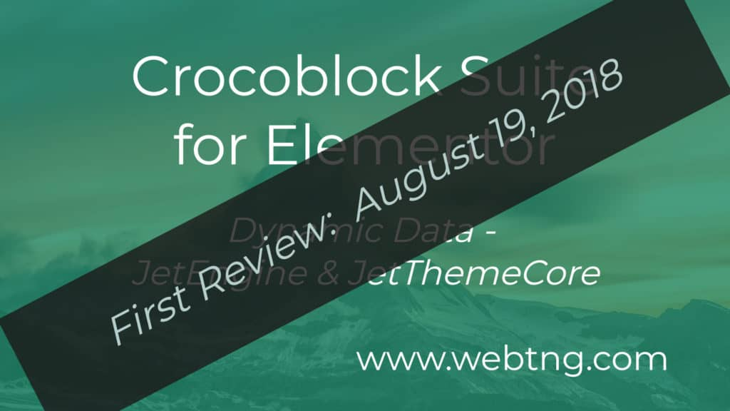 first review of Crocoblock