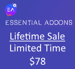 Essential Addons Sale