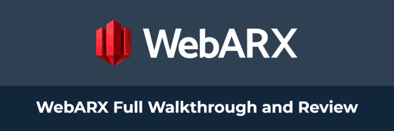 WebARX Full Walkthrough and Review