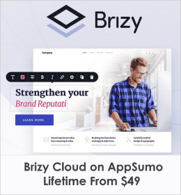 brizy cloud lifetime