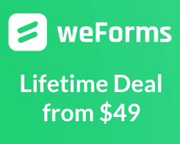 weforms lifetime deal