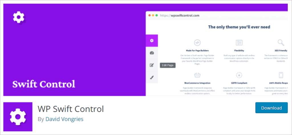 Free Version Of WP Swift Control