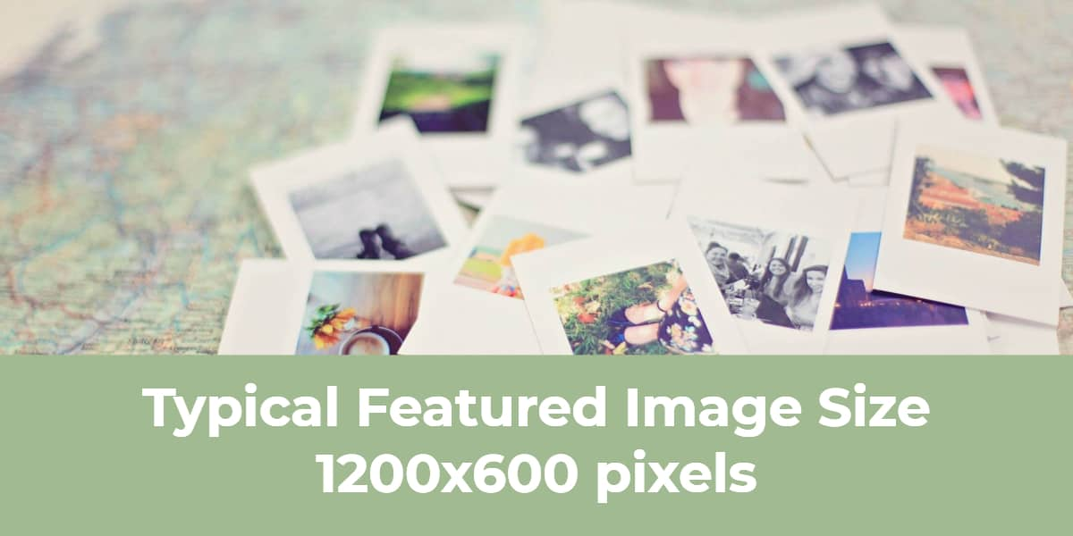 Typical Featured Image Size