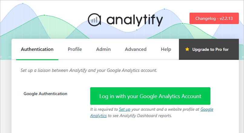 Analytify Step 2 Of Setup Wizard
