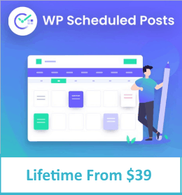 Wp scheduled posts lifetime
