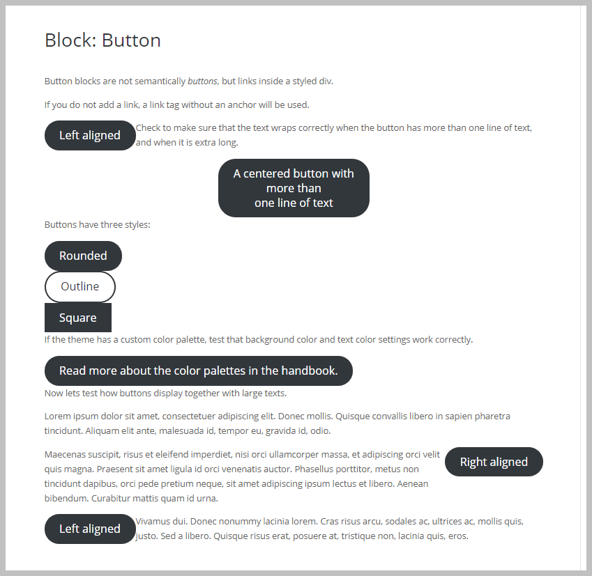 Divi Button Block