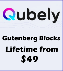 Qubely Blocks Lifetime Deal