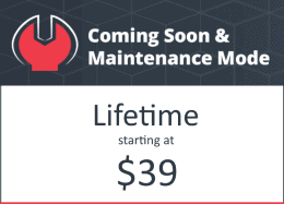 Coming Soon and Maintenance Mode LTD