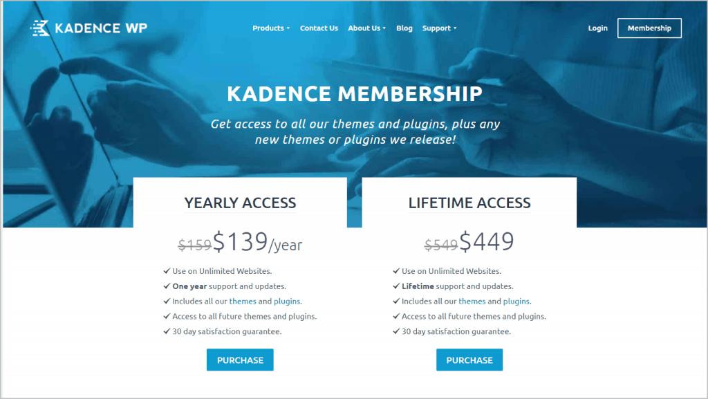 Kadence Membership