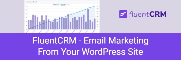 FluentCRM – Email Marketing From Your WordPress Site