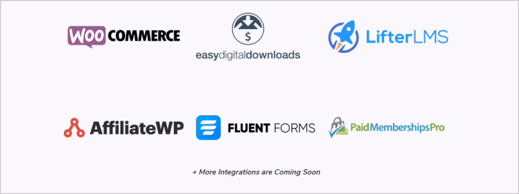 FluentCRM Integrations