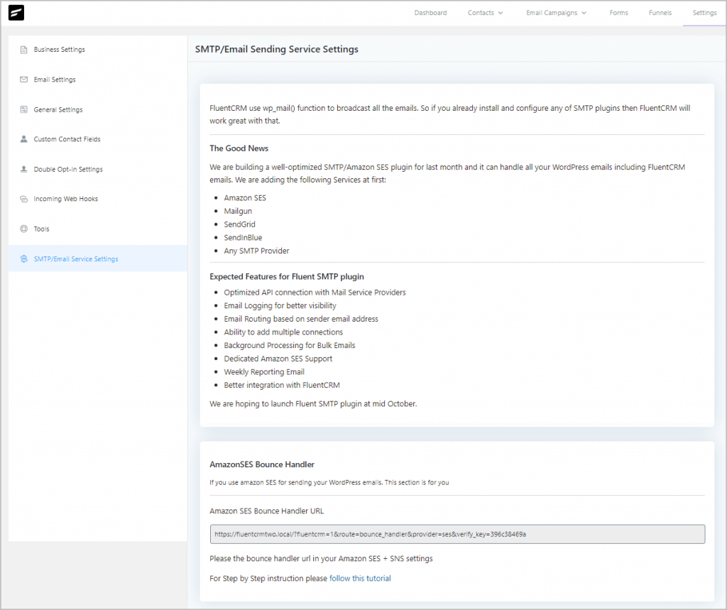 Fluentcrm Settings Smtp
