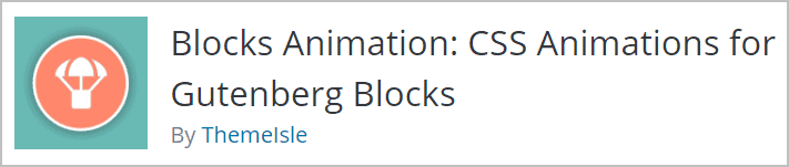 Block Animation