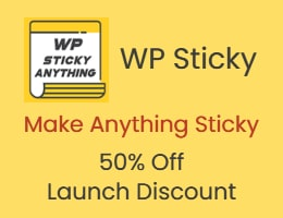Wp Sticky Lifetime