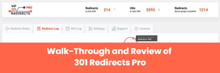 Walk-Through and Review of 301 Redirects Pro