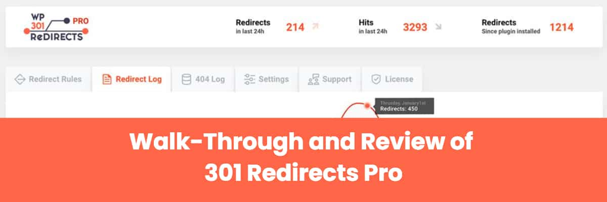 Walk Through And Review Of 301 Redirects Pro