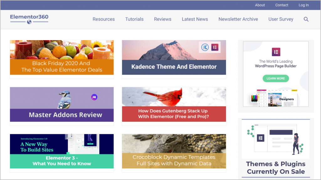Elementor360 Home Page