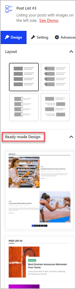 Gpb Readymade Designs
