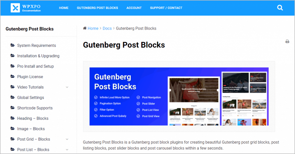 GPB Documentation page