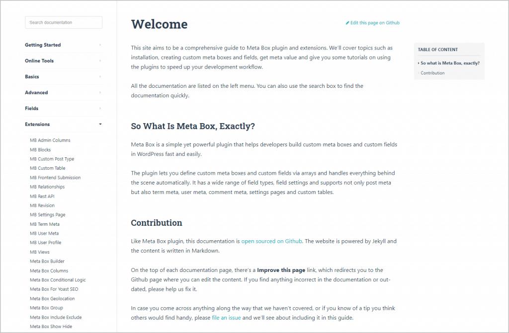 Meta Box Documentation