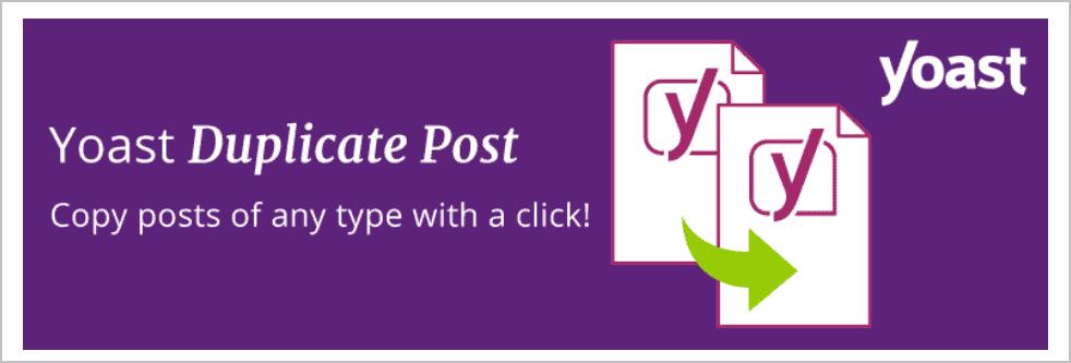 Yoast Duplicate Post Plugin