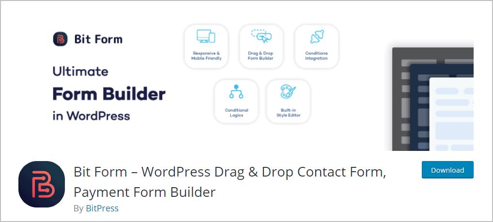 bit form wordpress org